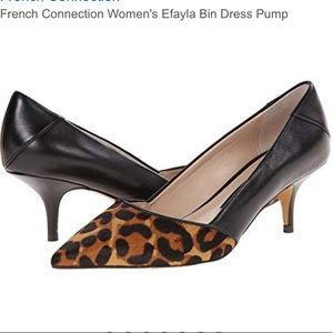 French Connection SiZe 8 Efayla Kitten Heels
